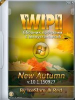 WPI v.10.1.150927 New Autumn by IceSlam & Red (x86/x64) [Multi/Ru] (2015)