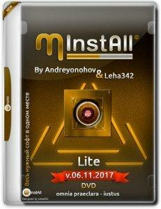 MInstAll by Andreyonohov & Leha342 Lite v.06.11.2017 (x86-x64) (2017) [Rus]