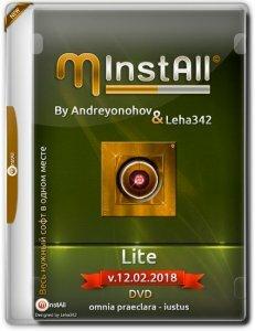 MInstAll by Andreyonohov & Leha342 Lite v.12.02.2018 (x86-x64) (2018) [Rus]