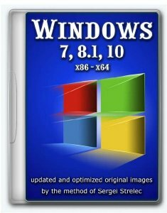 Windows 10, 8.1, 7 в одном ISO-образе 26.01.2019 (x86-x64) (2018) [Multi/Rus]