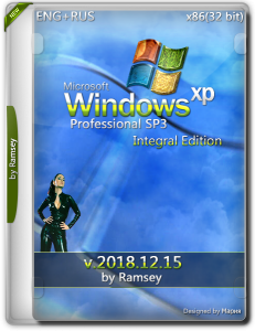 Windows XP Professional SP3 Integral Edition by Ramsey (x86) (15.12.2018) [Eng/RusLP]