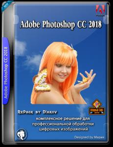 Adobe Photoshop CC 2018 v19.1.8 RePack by D!akov [Multi/Rus]