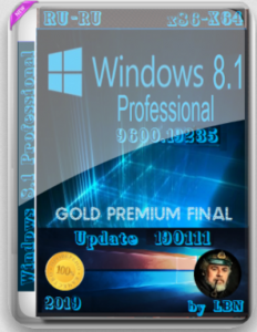 Windows 8.1 Pro 19235 SZ by Lopatkin (x86-x64) (2019) [Rus]