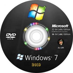Windows 7 SP1 7601.24387 (3x1) by Lopatkin (x86-x64) (2019) [Rus]