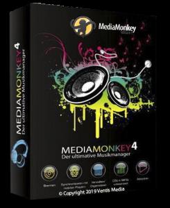 MediaMonkey Gold 4.1.24.1883 RePack (& portable) by KpoJIuK [Ru/En]