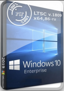 Windows 10 1809 Enterprise LTSC 17763.437 PIP by Lopatkin (x86-x64) (2019) [Rus]