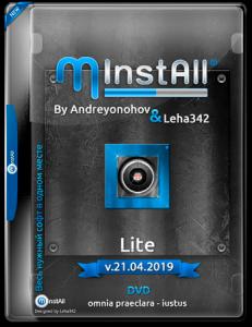MInstAll by Andreyonohov & Leha342 Lite v.21.04.2019 (x86-x64) (2019) [Rus]
